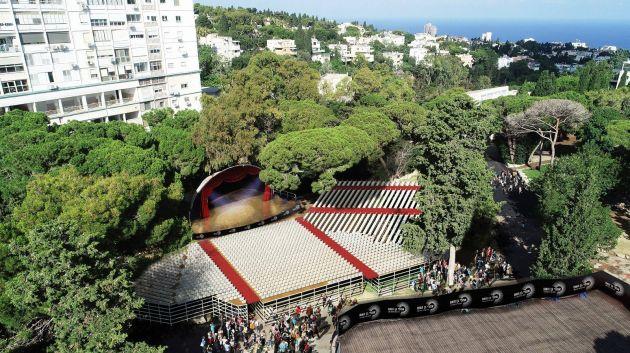 Парк «Ган ха-Эм» временно превратился в огромный концертный зал