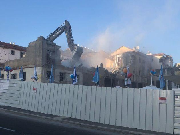 «Пинуй-Бинуй»: на Шпринцаке разрушили первые здания