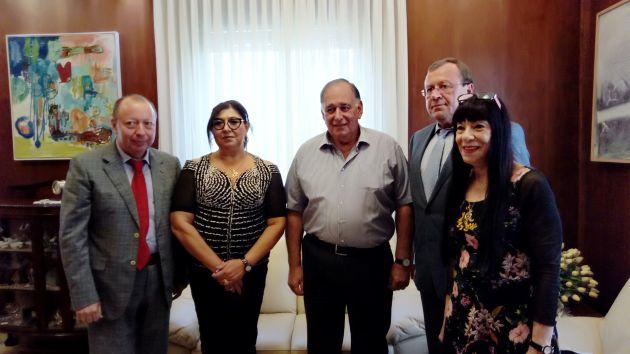 Хайфа — первый город, который официально посетил новый посол России в Израиле