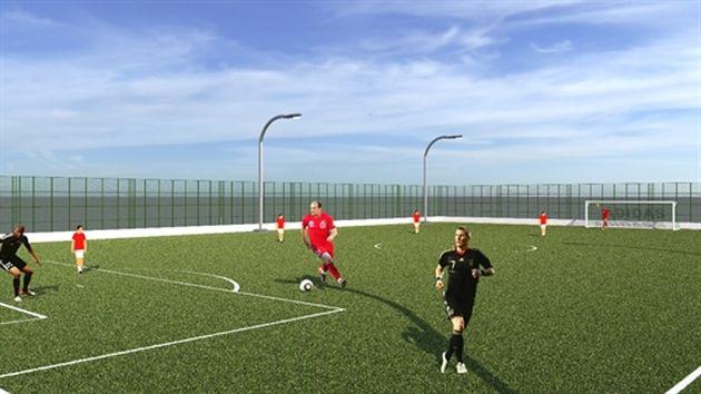 Бат-Галим: новый комплекс для игры в мини-футбол