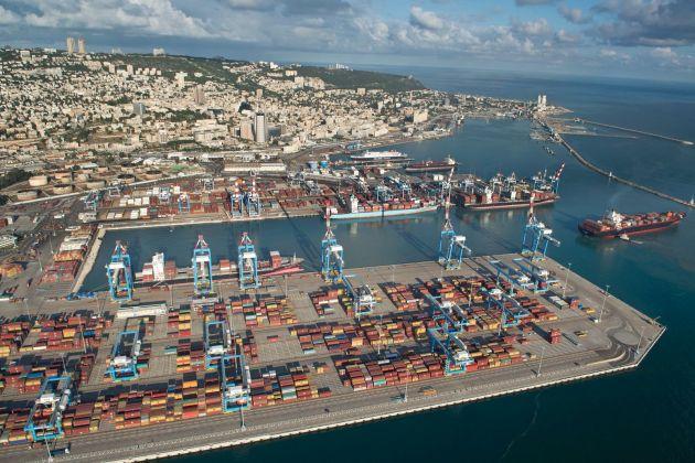 Хайфский порт бьёт рекорды каждый месяц