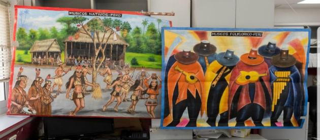 Хайфские «ценители искусства» выписывали из Перу картины с кокаином