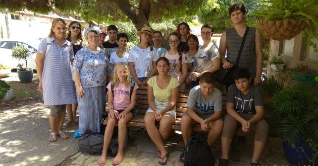 В Наалале приняли делегацию хайфских репатриантов