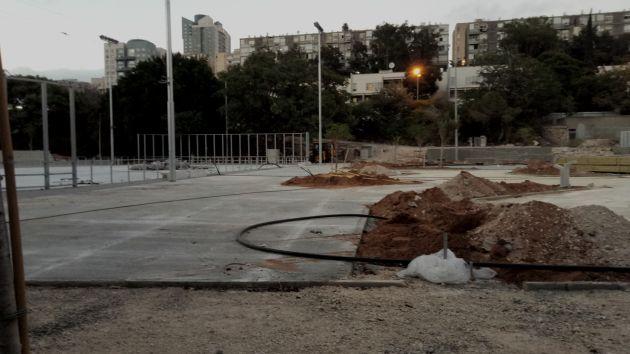 Новый спорткомлекс в Неве-Шаанане: открытие постоянно смещается