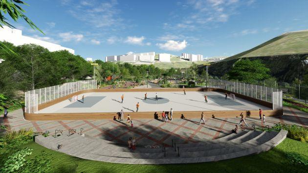 Сегодня в Неве-Шаанане открывается обновлённый открытый спортивный комплекс