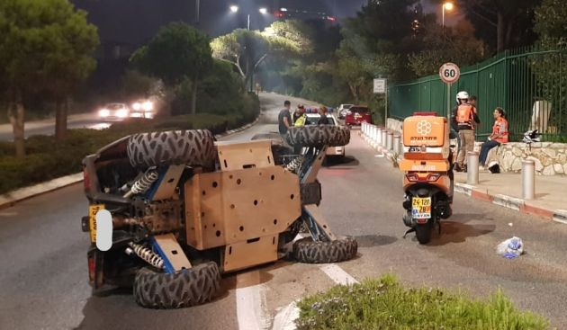 ДТП на окраине Хайфы
