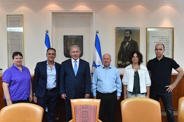 Нетаньягу представили разработку хайфского отделения IBM