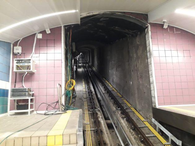 Первая жертва восстанавливаемого метро: мужчина упал в туннель