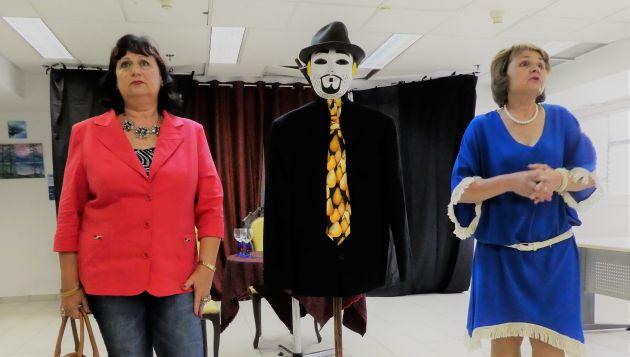 Театр «Лица» выступил в Центре независимой жизни