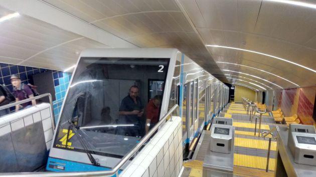 Почему сегодня временно не функционировало метро «Кармелит»