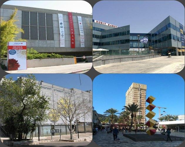 Хайфские архитекторы. А. Мансфельд: Аудиториум, Японский музей, Бейт Аба Хуши, башня Мейерхоф