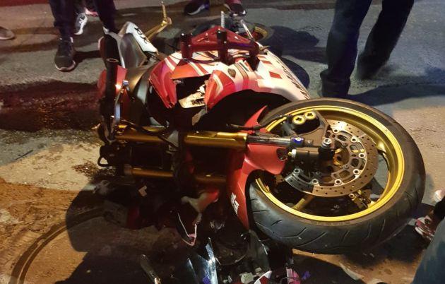 Происшествие на Адаре: мотоцикл сбил мальчика