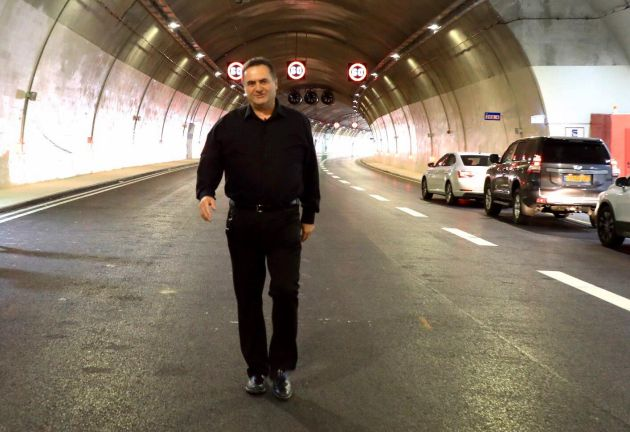 Сегодня на окраине Хайфы открылся новый участок Трансизраильского шоссе