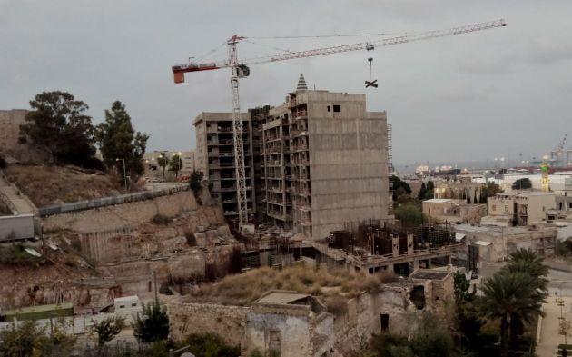 Вади-Салиб: видны очертания новых зданий. Скоро начнётся продажа квартир