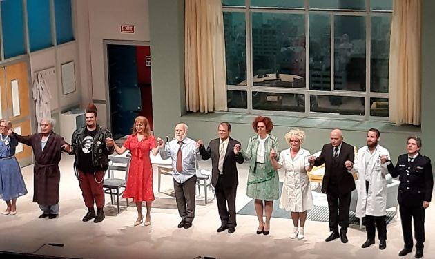 Новый спекталь Хайфского городского театра-комедия ошибок и полтора часа смеха