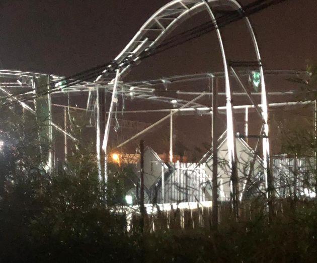 Рухнула крыша-могли пострадать сотни жителей Хайфы и окрестностей