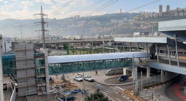 Скоро: новый мост между ТЦ «Синемол» и терминалом «Мерказит ха-Мифрац»