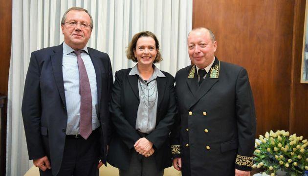 Мэр Хайфы приняла посла России: мы на пути к побратимским отношениям