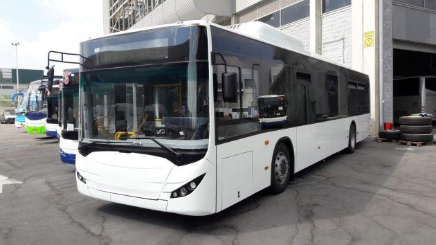 Скоро: электробусы израильского производства