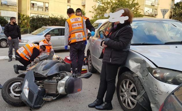ДТП в Неве-Шаанане: пострадал 30-летний мужчина