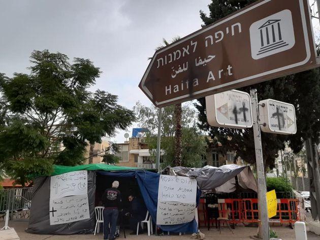 Сага с распятым Рональдом: голодовка и демонстрация перед Художественным музеем