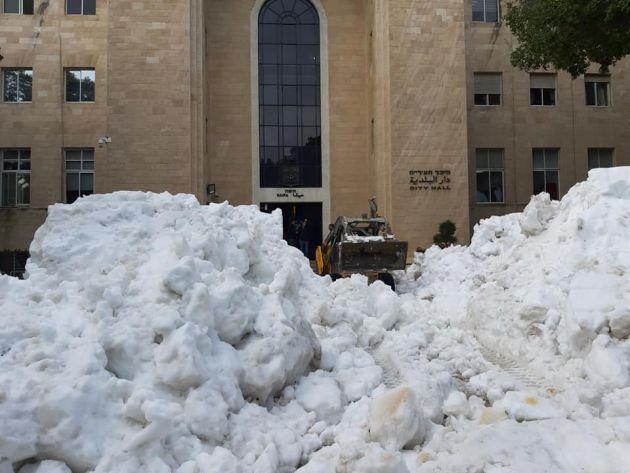 Сегодня! Снежный праздник в Хайфе: давление горожан оказало своё дествие