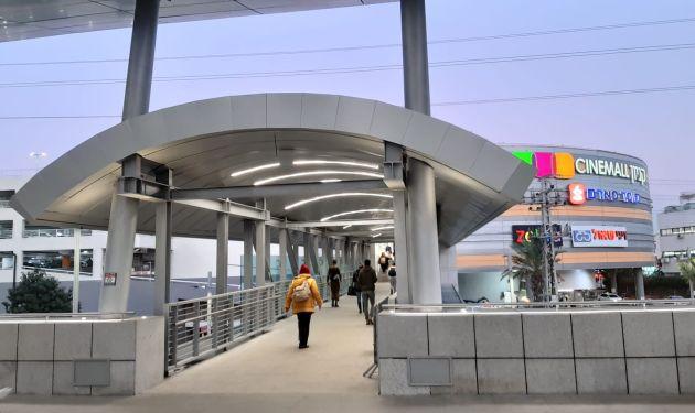 Новый мост соединил терминал «Мерказит ха-Мифрац» и ТЦ «Синемол»
