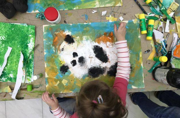 Дети в музее: мастер-класс «Панды» в Японском музее
