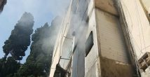 Пожар на Халисе. 8 пострадавших