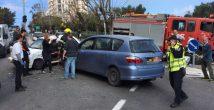 Вновь авария на Шдерот Ационут