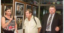 Хайфчанин отметил юбилей двумя фотовыставками