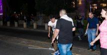 Антиизраильские акции в Хайфе: осквернивший израильский флаг задержан