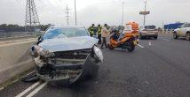 Авария на шоссе №22: семеро пострадавших