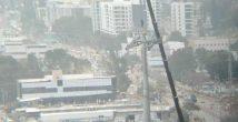 Перекрывается движение транспорта через перекрёсток Чек-Пост