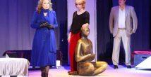 За широко закрытой дверью: звезды театра и кино Ирина Алферова и Андрей Соколов сыграют Сартра в Израиле