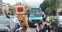 ДТП в Хайфе: автобус сбил прохожего