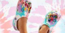 Дети цветов: любимый принт хиппи Tie-Dye в яркой коллекции Crocs